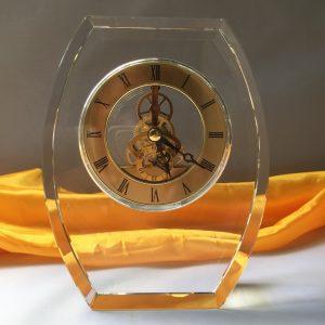 đồng hồ pha lê bình minh