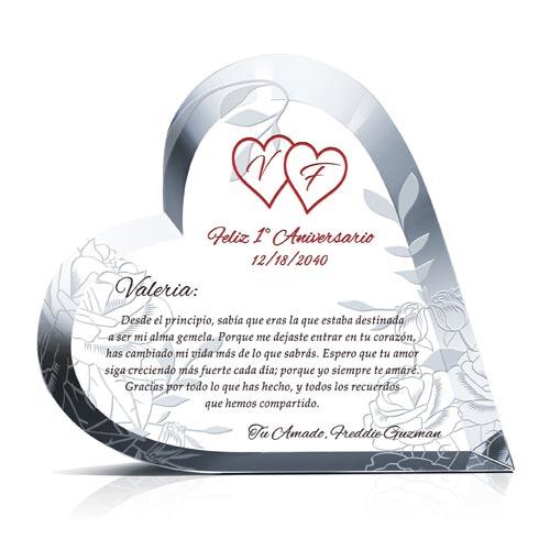 biểu trưng pha lê trái tim